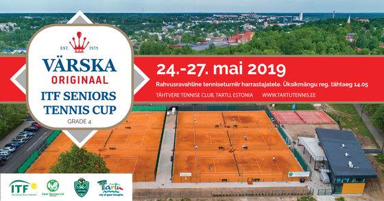 Värska Originaal ITF Seniors Tennis Cup 2019